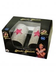 2 Wonder Woman™ deluxearmband med strass