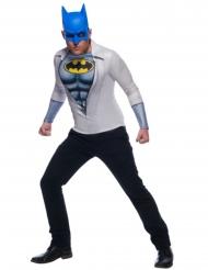 Batman™ T-tröja med mask vuxen