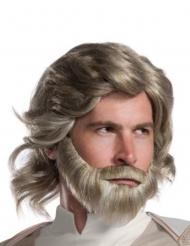 Luke Skywalker The Last Jedi™ peruk och skägg vuxen
