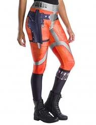 Star Wars™ X-Wing fighter pilot leggings vuxen