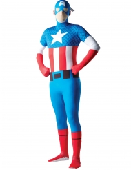 Captain America™ second skindräkt vuxen