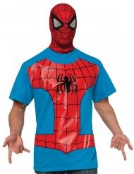 Spiderman™ T-tröja med huva vuxen
