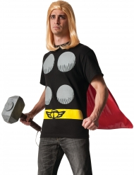 T-shirt och mantel från Thor™ - Maskeradkläder för vuxna