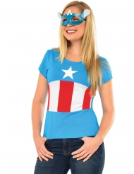 American Dream - T-shirt & mask från Captain America™
