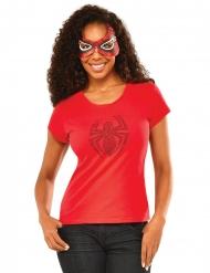 Spidergirl™ tröja & mask dam