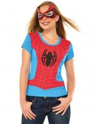 Spider-Girl™ tröja och mask dam