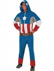 Captain America™ overall med huva