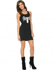 Spiderman™ Venom™ svart klänning dam