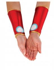Iron Man™ armband i imitationsmetall dam
