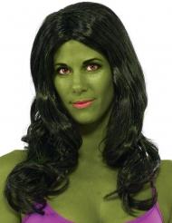 She-Hulk™ peruk vuxen
