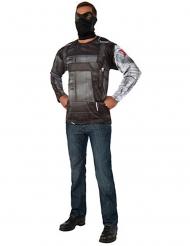 Captain America Civil War™ Winter Soldier tröja och mask