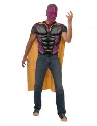 Captain America civil War™ Vision-tröja med muskler vuxen