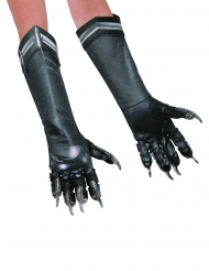 Captain America Civil War™ deluxe Black Panther handskar