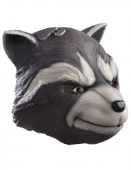 Guardians of the Galaxy 2™ Rocket Raccoon deluxe latexmask vuxen