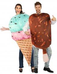 Glassigt par - Maskeradkläder för vuxa