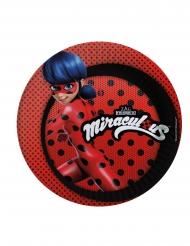 8 kartongtallrikar från Ladybug™ - Kalasdukning 23cm