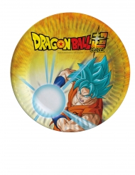 8 Dragon Ball Super™ små tallrikar 18 cm