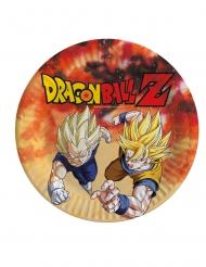8 Dragon Ball Z™ papptallrikar 23 cm