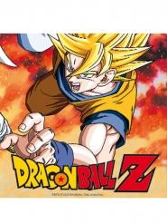 20 Dragon Ball Z™ pappersservetter 33x33 cm