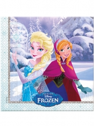20 Frost™ servetter med vinterlandskap