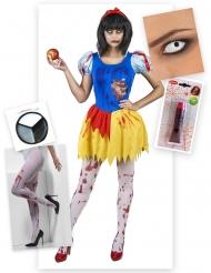 Förgiftad sagosessa - Komplett maskeradkit till Halloween