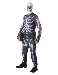 Skull Trooper från Fortnite™ Maskeraddräkt för vuxna