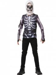 Skull Trooper från Fortnite™ - T-shirt och huva till maskeraden