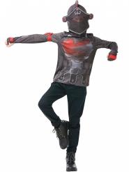 Black Knight från Fortnite™ - T-shirt och huva till maskraden