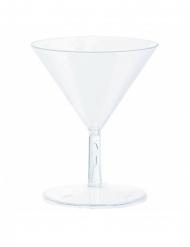 20 Mini-martiniglas av plast 59 ml