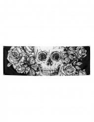 Dödskalle dekoration 74*220cm - Halloween pynt
