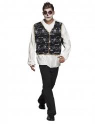 Elegant skelettig herrman - Halloweenkostymer för vuxna