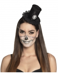 Spetsliknande mini hatt Steampunk för damer - Halloween Hattar