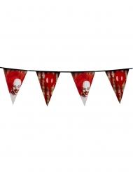 Ond clown - Girland till Halloweenfesten 30 x 6m
