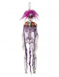 Hängande skelett 40cm - Halloween pynt
