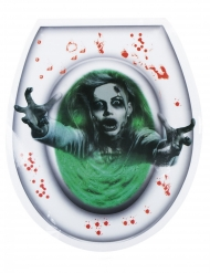 WC sticker för damer 28*32 cm - Halloween pynt