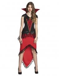 Vampyrgrevinna - Halloween Maskeraddräkt för vuxna