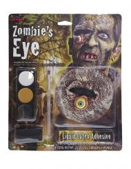 Zombie öga för vuxna - Halloween pynt