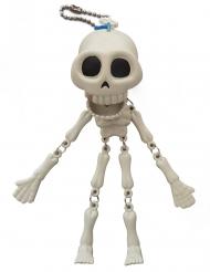 Dödskalle med extra stor munn 15cm - Halloween pynt