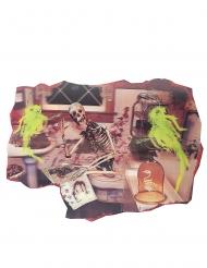 Badrumsskelett 38*27 cm - Halloween pynt