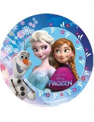 Tårtbild från Frost med Olof, Anna & Elsa - 18,5 cm