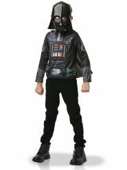 Darth Vader™ tröja med mantel och mask barn