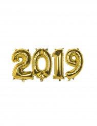 2019 - Aluminiumballonger i guld till nyåret 36 cm