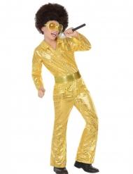 Golden dancer - Discooverall för barn till kalaset