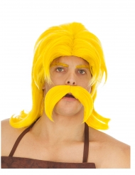 Asterix & Obelix Smidefix™ mustasch och peruk