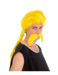 Asterix & Obelix™ Peruk och mustasch Crabbofix