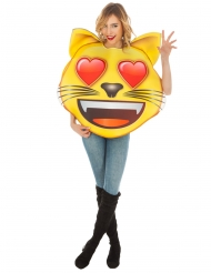 Katt Emoji™ vuxendräkt