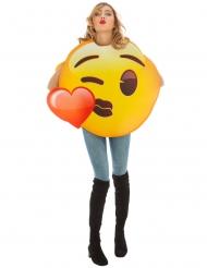 Puss Emoji™ vuxendräkt