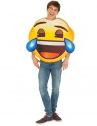 Gapskrattande Emoji™ vuxendräkt