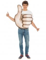 Tummen upp Emoji™ vuxendräkt