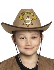 Sheriffhatt i barnstorlek